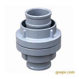 西安水带快速卡扣接头DN65 DN50铝合金连接头配喉箍