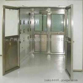 广州禄米专业生产-货物风淋室-不锈钢、全钢材质