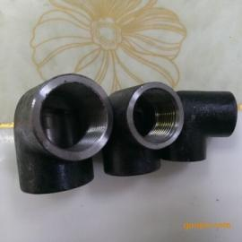 高压钢丝扣弯头90°PN40 油田碳钢内丝内螺纹直角弯