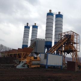 混泥土机械厂直销HZS90型搅拌站