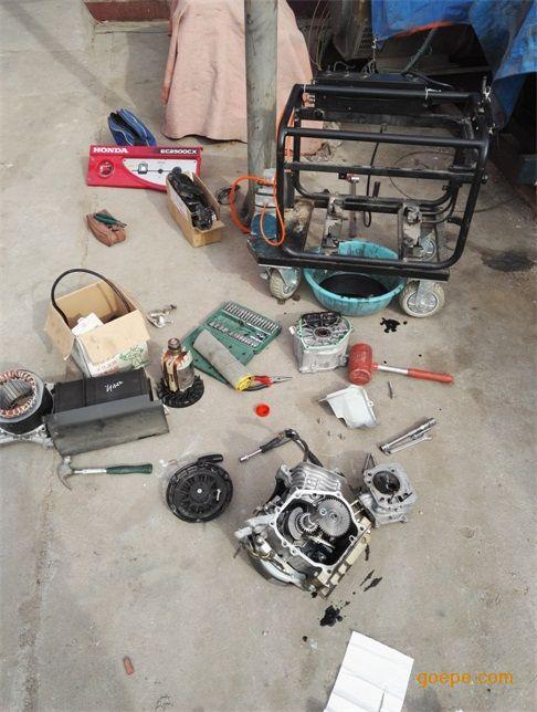 型号:本田发电机系列 ;维修产品:本田发电机系列 ;维修方式:维修车间
