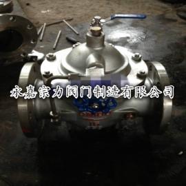 100X不锈钢水位控制阀不锈钢遥控浮球阀