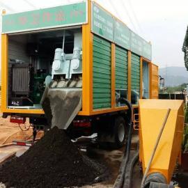 福州厦门泉州998新型环保固液分离式化粪池处理车实现资源循环利