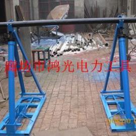 电缆线盘支架 卧式放线架 梯形放线架