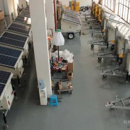 新型太阳能移动监控灯塔
