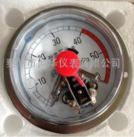 磁柱式电接点耐震压力表YXC100
