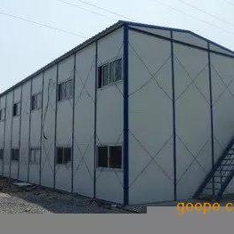 安徽省六安喷漆线金寨宣城宿松彩钢板房/养殖钢构彩瓦搭建工程
