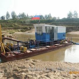山东省8寸射吸式抽沙采沙机械 河北地区河道射吸抽沙船设备图