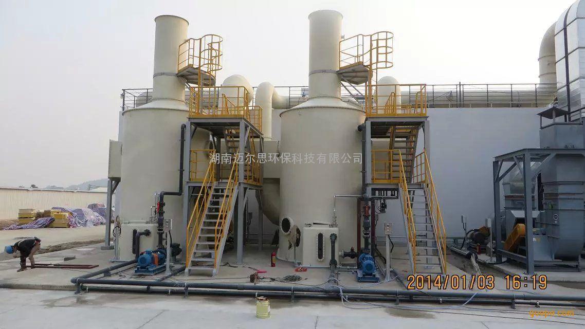 化学洗涤塔/玻璃钢洗涤塔/化学除臭设备