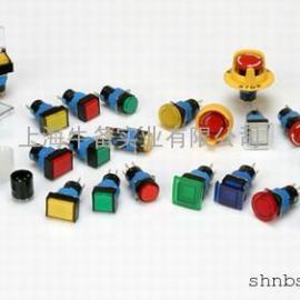 凯昆Φ8孔径K08系列微型指示灯/带灯按钮开关自锁型