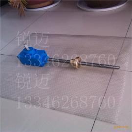 SJ方壳防旋转螺旋丝杆升降机 丝杠加长带铜螺母丝杆升降机