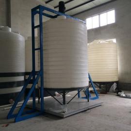 10吨耐酸碱锥底储罐 锥形罐
