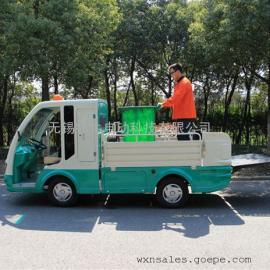 萍乡2座6桶电动环卫车,垃圾清运车,四轮商场保洁车,物业搬运清