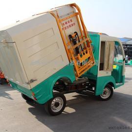 绍兴2座封闭式电动吊桶车,垃圾清运翻桶车,可定制自卸车