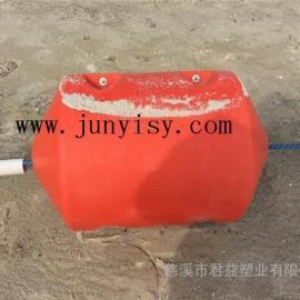 防腐蚀聚乙烯浮漂定做 台州PE海上拦污浮漂批发