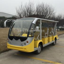 青岛14座电动景区观光车,校园接送电瓶车,度假村游览车