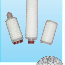 折叠式聚四氟乙烯膜滤芯