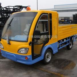 陕西2座电动工具车,工厂货物运输车,物业载货电瓶车,可定制
