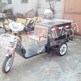 0.25立方不锈钢电动环卫清运车、电动三轮保洁车