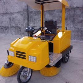 城市道路扫地车驾驶式电动扫路车扫吸结合式道路清洁车