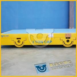 耐高温防爆砖厂转运万向轮无轨电车30吨安全可靠