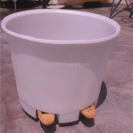 成都存储塑料桶 环保级pe酿酒桶 400L豆芽催芽桶