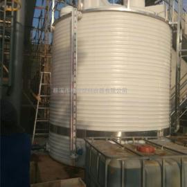 化工加厚型耐酸碱储罐/污水处理塑料水箱/10吨食品级塑料大桶
