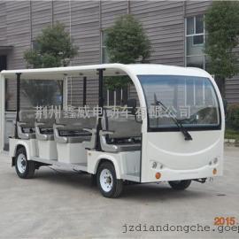 惠州市景区电瓶观光车电瓶游览车厂家23座四轮电动载客车价格