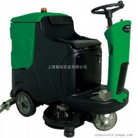 大型工业厂房驾驶式洗地机爱姆乐洗地机850BT进口品质