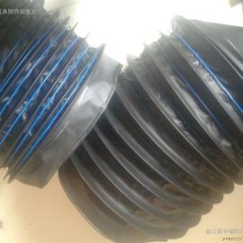 大型液压油缸伸缩防尘套保护油缸拉杆