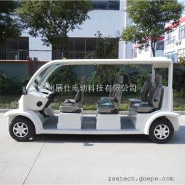 上海供应四轮六座电动观光车 校园工厂游览车 休闲代步车全国联保