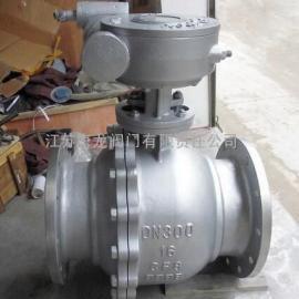 VQ341F/Y-40P蜗轮不锈钢V型球阀