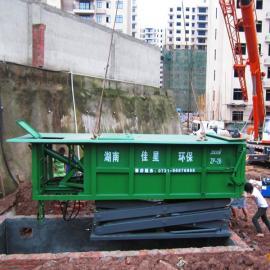 自动压缩装车地埋垃圾收集转运站