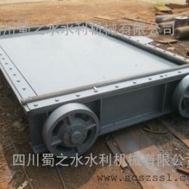 四川平面定轮钢闸门价格(成都平面滑动喷锌钢制闸门生产加工)
