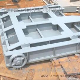 江西平面定轮钢闸门价格(南昌平面滑动喷锌钢制闸门生产加工)