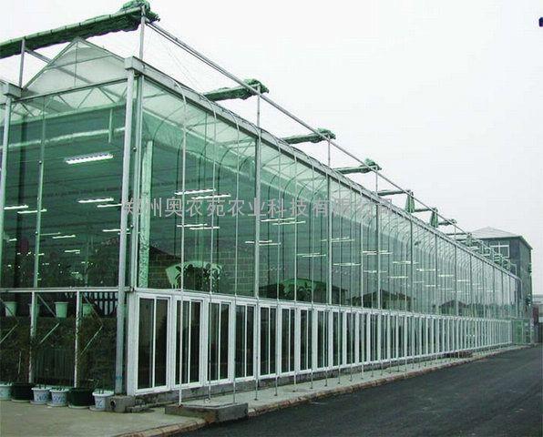 连体钢架烟叶育苗温室大棚多为文洛型(也可以采用圆拱形),多采用一跨多顶,外形现代,结构稳定,形式美观大方,视觉流畅,保温性能卓越,透光率适中,多雨槽,大跨度,排水量大,抗风能力强,适合于风力与雨量较大地区。阳光板温室,具有透光度好,热传导系数低,由于阳光板分量轻,寿命长,拉伸强度大,通过简单的钢骨结构就能满足抗风、抗雪的要求,并且寿命长,美观大方,减少重复建设及投资,是目前替代原始的塑料薄膜温室与玻璃温室的首选产品·阳光板温室多为文洛型(也可以采用圆拱形),多采用一跨多顶,外形现代,结构稳定