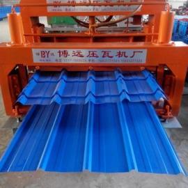 840-900双层板瓦压瓦机设备