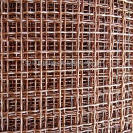 铜丝轧花网 黄铜轧花网 紫铜压花网