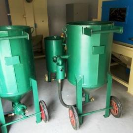 新疆移动式喷砂机 铁罐除锈喷砂机 防腐蚀喷砂机