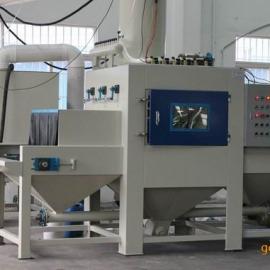 贵州自动喷砂机 板材通过式打砂机 型材流水线打砂机