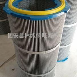 焊接烟雾除尘滤芯 PTFE覆膜高精度烟雾过滤除尘滤筒