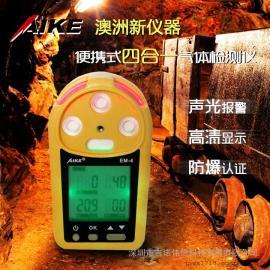 澳洲新仪器EM-4四合一气体检测仪