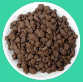 现货直销除铁除锰天然锰砂滤料 专业生产锰砂滤料