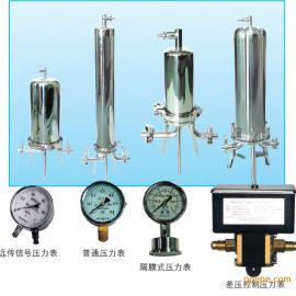 不锈钢筒式单芯和多芯液体过滤器