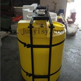 河南PE耐酸碱1立方搅拌桶 洛阳1吨带搅拌PE桶