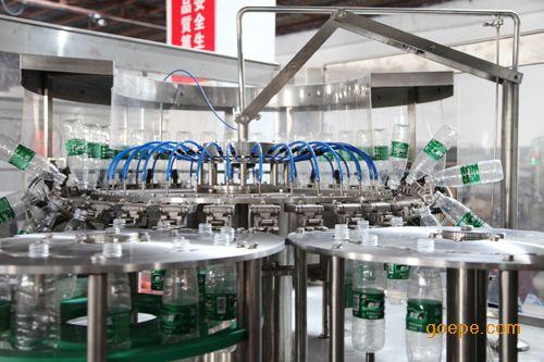 小瓶装三合一灌装机设备|小瓶装三合一灌装机生产线