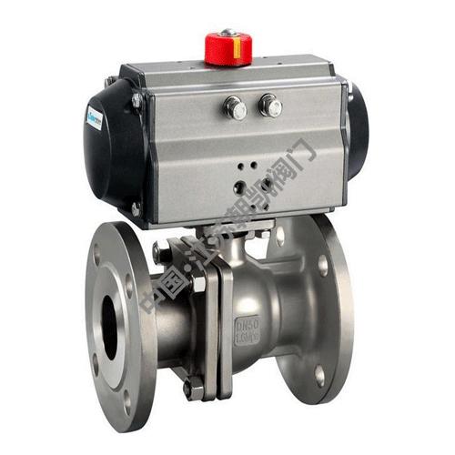 Q641H―16P气动球阀,气动球阀厂家,气动不锈钢球阀
