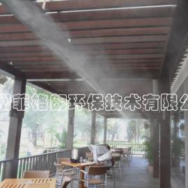 户外酒吧喷雾降温/露天餐厅喷雾降温/室外降温设备价格