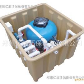 供应泳池全自动一体化净水设备 地埋式过滤设备