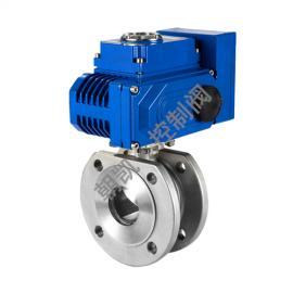 Q971H―16P电动对夹式球阀,电动对夹球阀厂家